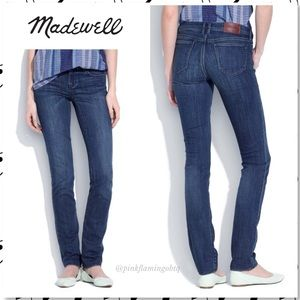 Madewell Rail Straight Jeans Western Wash Short